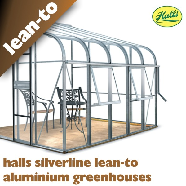 Halls Silverline Lean To Greenhouses