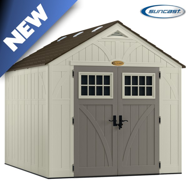 Suncast bms8100 tremont 3 shed 8x10 for 10x8 shed floor plans