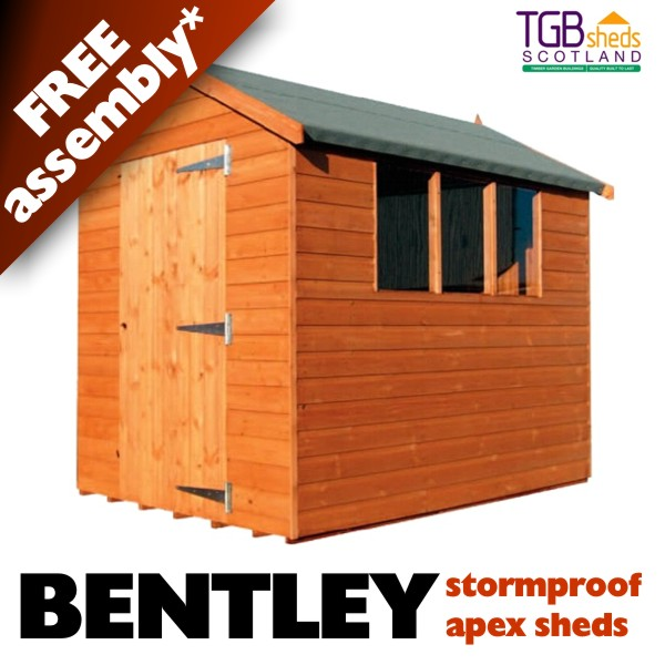 TGB Bentley Apex (Stormproof) Shed *INSTALLED*