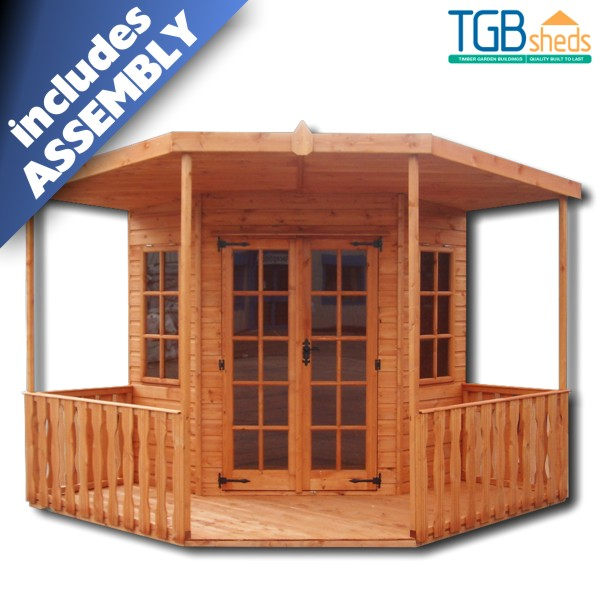 TGB Corner Blenheim Summerhouse *ASSEMBLED*
