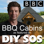 Simply Garden Buildings Finlandic Arctic Cabins BBQ Huts as seen on the BBC television program DIY SOS